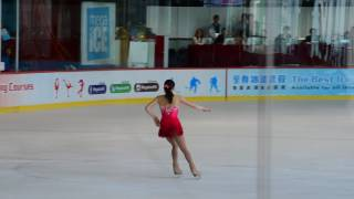 Rika Kihira 紀平 梨花 3A clean!! + 7 triple FS 2017 Asian Open Figure Skating Trophy (no commentary)