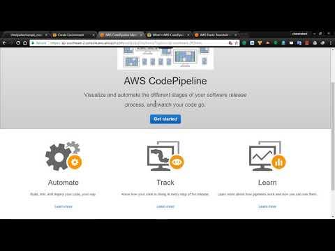 Automate AWS Code pipeline,  Elastic Beanstalk using GitHub | Demo | Part 15
