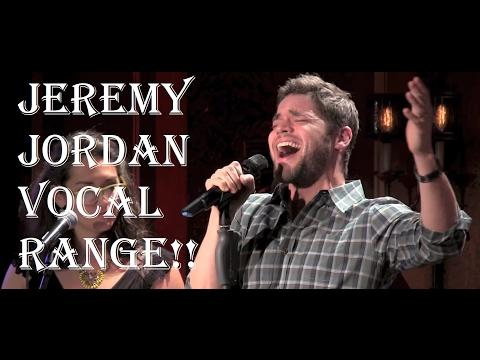 Jeremy Jordan Full Vocal Range (A2-Eb5-F5)