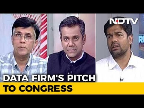 NDTV Accesses Cambridge Analytica's Pitch To The Congress