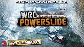 WRC Powerslide - PC Gameplay (First 15 Minutes)  Rally Games Ep. 17
