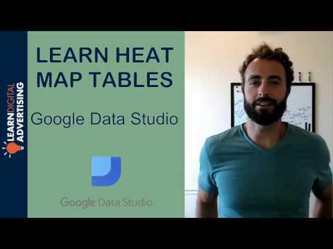 Google Data Studio Tables With Heat Maps