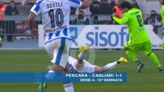 Video Gol Pertandingan Pescara vs Cagliari