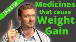 Medications That Cause Weight Gain 💊💊💊
