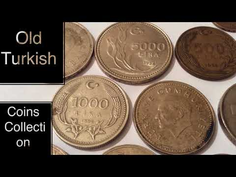 800$$$ Price  Rare And Old Turkish Coins Collection Value Numismatic Eski Türk Paraları Lira Kuruş