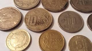 800$$$ Price  Rare and Old Turkish Coins Collection Value Numismatic Eski Türk Paraları Lira Kuruş