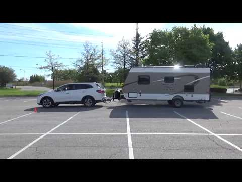 RV TRAVELS - Sante Fe Towing A Travel Trailer - Set Up