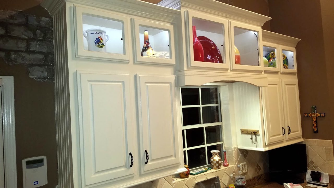 Custom built cabinets diy youtube - Custom made cabinet ...
