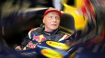 RTL Aprilscherz 2006 - Niki Lauda fährt Red Bull