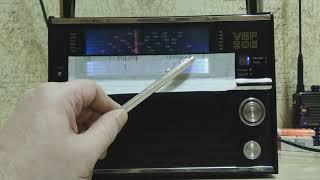 Обзор и тестирование цифровой планки FM для VEF-206