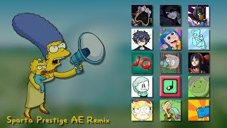 "[Collab] [The Simpsons Movie] ""Throw the goddamn bomb!"" Sparta Prestige AE Remix"