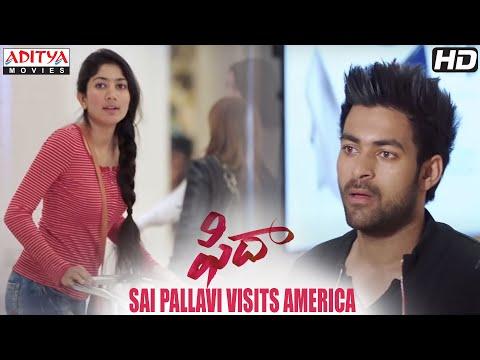 Fidaa Movie Scenes  | Sai Pallavi Visits America | Varun Tej, Sai Pallavi | Sekhar Kammula