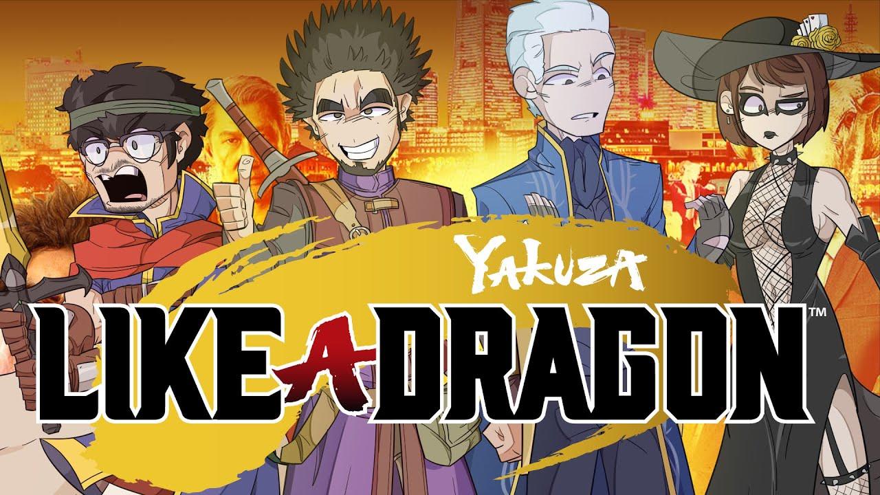 THE YAKUZA: LIKE A DRAGON EXPERIENCE