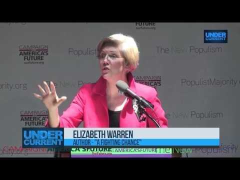 Elizabeth Warren Skeptical of Bank Prosecutions