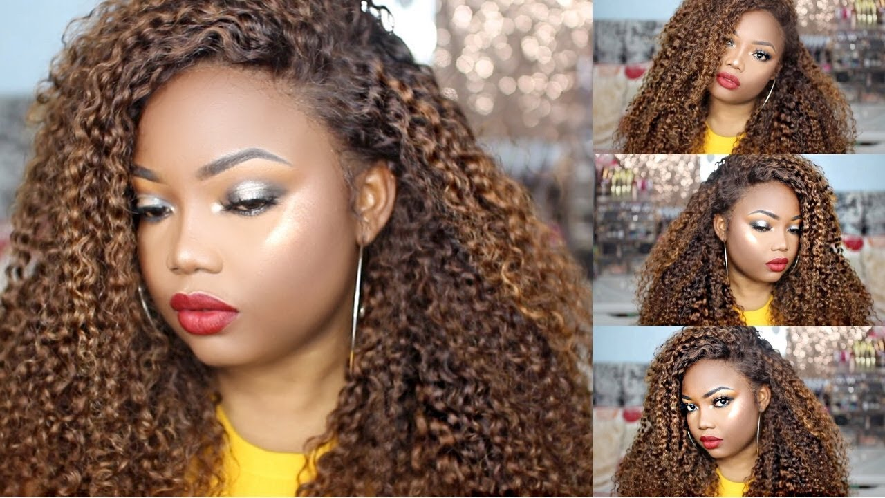 How To Colour Hair Chestnut Brown With Honey Blonde Highlights On