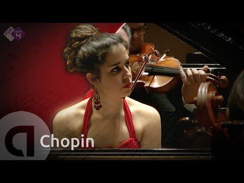 Chopin: Piano Concert no. 2 - Rosalía Gómez Lasheras - Live HD Classical Music