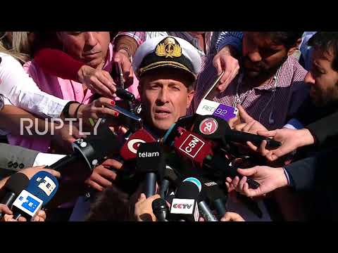 Argentina: Macri says intensify sub search - Navy official