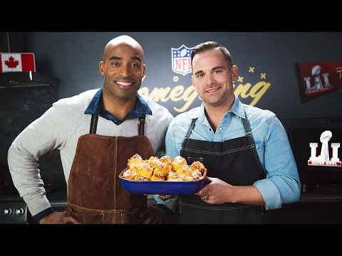 Street-Style Corn with Chef Matt Dean Pettit & Tiki Barber | Super Bowl LI | NFL Canada Homegating
