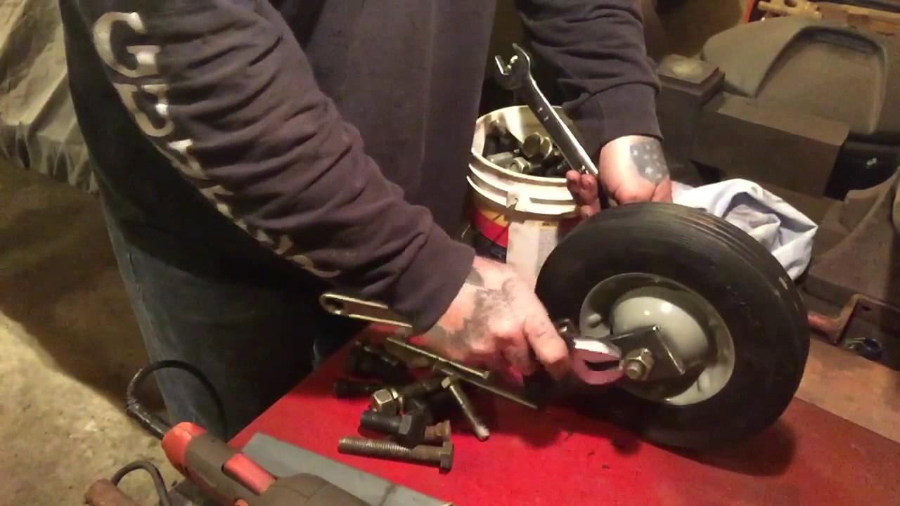 Swivel Wheels For Mower Decks Zef Jam