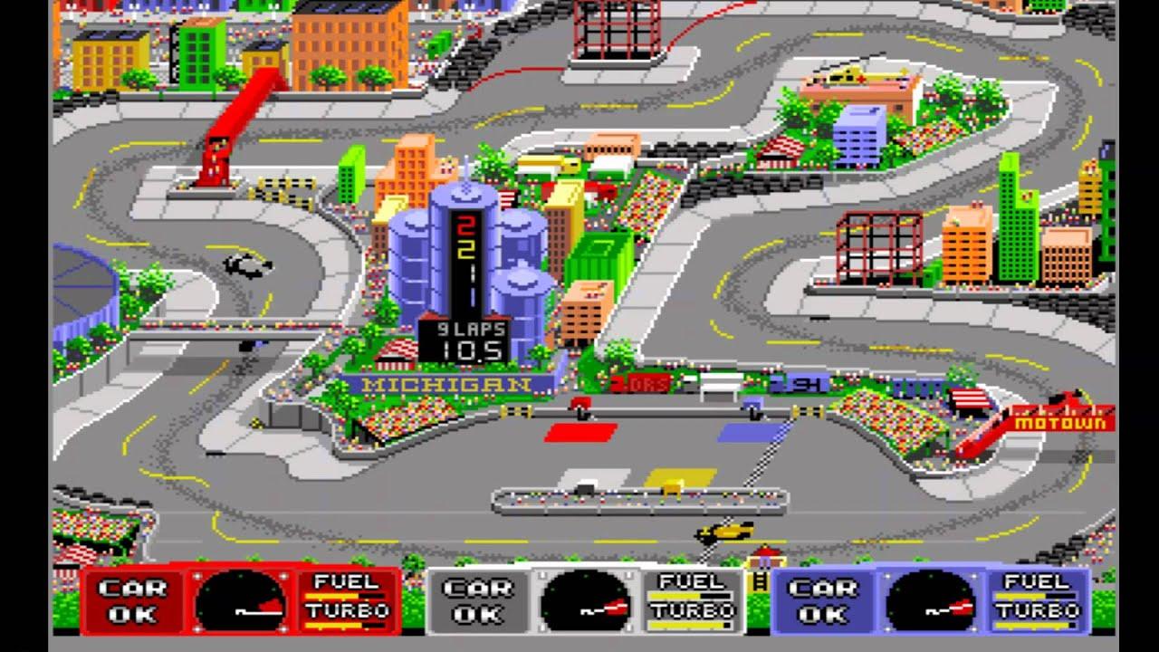Indy Heat (Amiga) - A Longplay Guide & Review - by LemonAmiga com