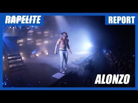 Alonzo : en immersion à son concert au Dôme avec Soprano, Jul, Black M, L'Algérino, Elams ...