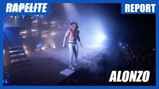 Alonzo : en immersion à son concert au Dôme avec Soprano, Jul, Black M, L