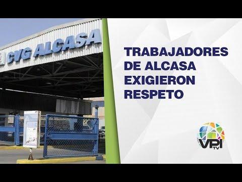 Venezuela - Trabajadores De Alcasa Exigen Respeto De Beneficios Laborales  - VPItv
