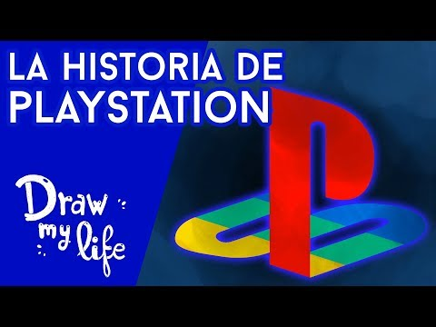 La ESPECTACULAR EVOLUCIÓN de PLAYSTATION - Draw My Life en Español