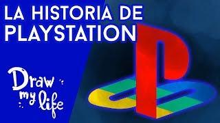 La ESPECTACULAR EVOLUCIÓN de PLAYSTATION - Draw My Life en Español