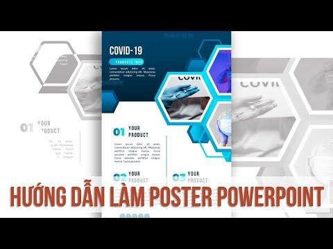 Hướng dẫn làm poster chuyên nghiệp trên powerpoint