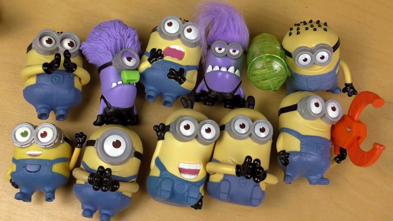 Happy Minions Meal 2013+2015 - YouTube