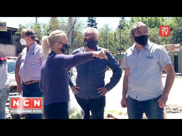 CINCO TV - Julio Zamora supervisó obras de inversión municipal en General Pacheco y El Talar