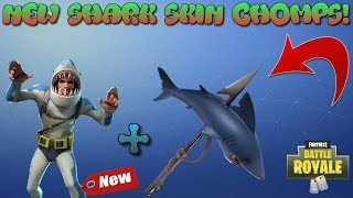 "*NEW* SHARK SKIN ""CHOMP SR'' + AXE ""CHOMP JR"" GAMEPLAY SHOWCASE! 