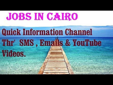Jobs in CAIRO for freshers & graduates. industries, companies.  EGYPT
