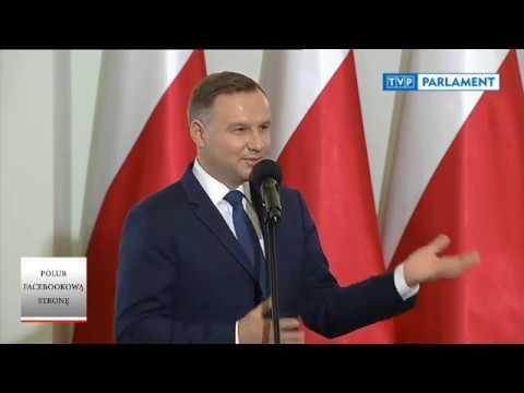 Prezydent Andrzej Duda o zadaniu gimnazjalnym córki – zaangażowanie obywateli w samorządach