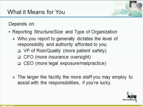 Risk Management 101 for Healthcare Providers