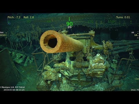 USS Lexington wreckage found