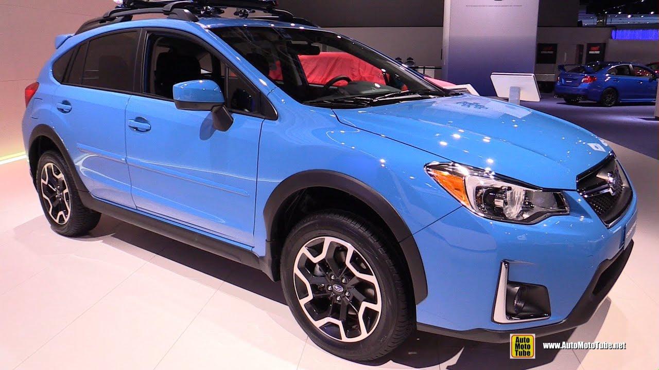 2016 Subaru XV Crosstrek - Exterior and Interior Walkaround - 2016 Detroit  Auto Show