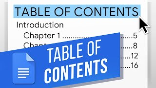 How to Create a Table of Contents in Google Docs | Update a Table of Contents in Google Docs