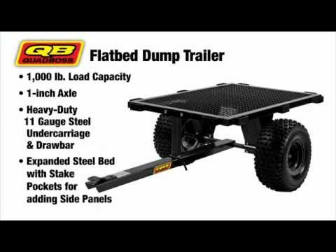 Quad Boss Trailers at Chaparral Motorsports