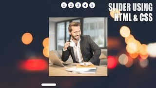 Full Screen Image Slider with HTML,CSS & NO JS