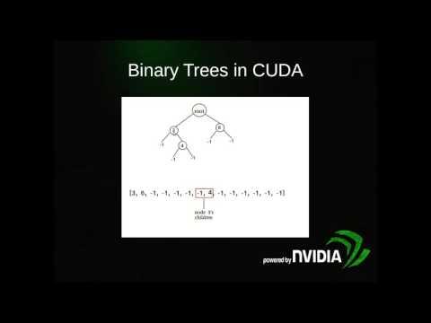 Algorithms in CUDA: binary trees