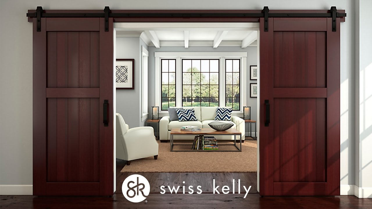 Swiss Kelly Barn Door Track System the EZ Track™ Design Barn Door Hardware & Swiss Kelly Barn Door Track System the EZ Track™ Design Barn Door ...