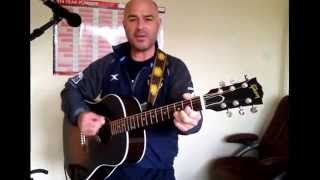 Beat Surrender (Acoustic Cover) The Jam Paul Weller  EPIC FAIL!