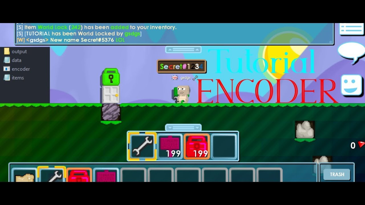 *Growtopia Private Server* ( ENCODER/DECODER) By Secret!