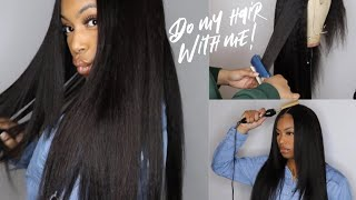 FIRST Time EVER Trying Kinky Straight Hair and I LIKEEE! | ft. BeautyForeverHair w/ BLACK FRIDY SALE