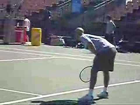 James Blake vs Robby Ginepri - Sydney 2007