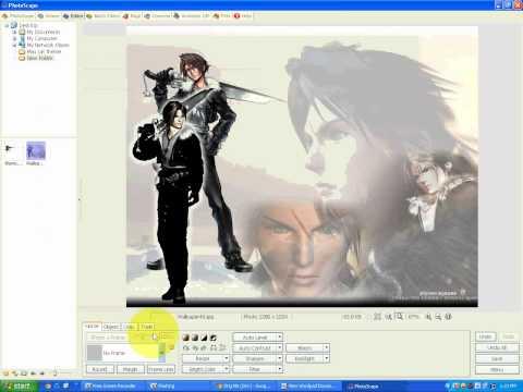 P1 - HD Cắt theme bằng Photoscape