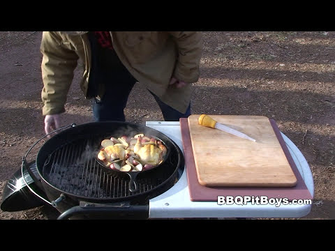 Cornish Game Hens Recipe By The BBQ Pit Boys