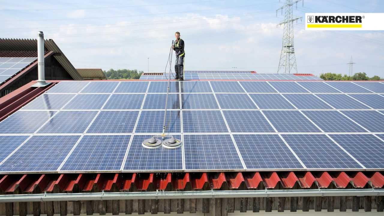 K 228 Rcher Isolar Und Solarreiniger Rm 99 Youtube